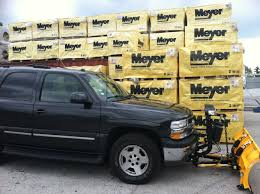 meyer installed on chevy tahoe meyer snow plows pinterest