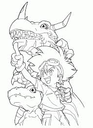film digimon coloring book printable coloring sheets fish