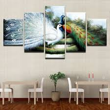 Decorative Pieces For Home by Online Get Cheap Peacock Wall Mirror Paintings Pictures