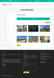 realtyspace v2 1 2 real estate html5 template dashboard