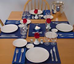 Table Setting Images by Pan Am Dinner Table
