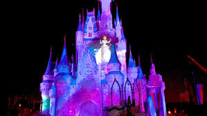 disney celebrate the magic castle projection light show
