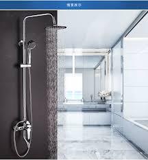 Chrome Bathroom Fixtures Dofaso Wholesale And Retail Bathroom Shower Faucet Mixer Chrome