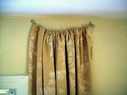 Curtain Rod Screws Inspiration How Hang Curtains Without A Rod Photo Curtain Rods No Screws Top