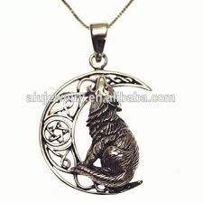 silver wolf pendant necklace images Old silver wolf pendant jewelry for men buy silver wolf pendant jpg