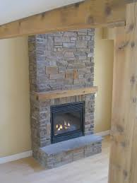 interior wonderful gray natural stone fireplace for living room