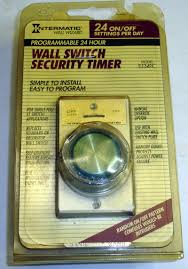 intermatic light switch timer intermatic ej341c indoor wall switch timer controls lighting