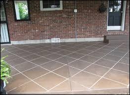 Diy Concrete Patio New U201ctile U201d Patio Floor Reveal Beneath My Heart