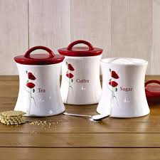 kitchen canister poppy kitchen canister collection dunelm