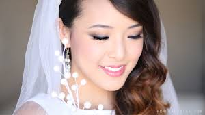bridal makeup tutorial bridal makeup tutorial for monolids small creases from to toe
