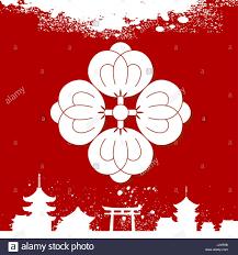 japanese ornament japanese culture symbolic ornaments stock vector art