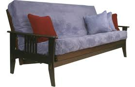 traditional wood futon sofa sleeper marin wood futon frame java