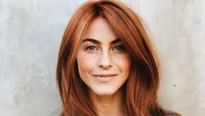 julia hough new haircut julianne hough s red hair makeover dyes hair on valentine s day