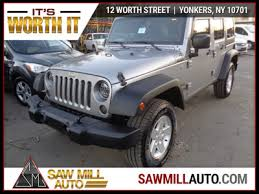 is a jeep wrangler worth it 2015 used jeep wrangler unlimited damage at saw mill auto
