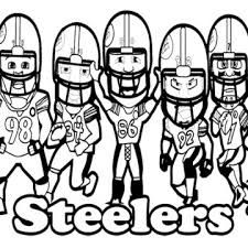 nfl football helmet coloring pages football helmet drawing steelers clipart panda free clipart images