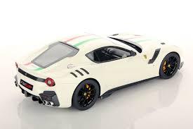 Ferrari F12 White - ferrari f12 tdf 1 18 looksmart models
