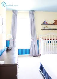 remodelando la casa changes coming for boy s room gingham blue curtains in boy room crib