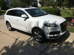 audi q7 towing package sell 2014 audi q7 s line prestige 3 0t carrara white tow