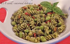pasta salad with tuna tuna pasta salad with pesto dressing a well seasoned kitchen