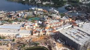 Disney Springs Map Video Take Flight Over Disney Springs For An Aerial View Of Town