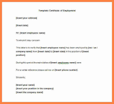 Certification Letter Sle To Whom It May Concern Salary Certificate Template Business Internship