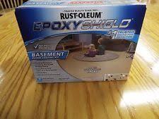 Rustoleum Epoxy Basement Floor Paint by Rust Oleum 225446 Epoxy Shield Floor Coating Kit Tint Base Ebay