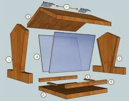 generator storage shed plans bird table construction plans