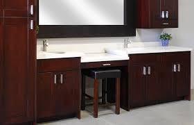 Cherry Espresso Cabinets American Cherry Chocolate Shaker Rta Vanity Cabinets