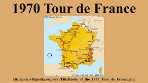 Tour De France Map by 1970 Tour De France Youtube