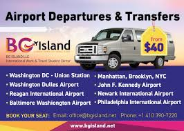 Bus From Nyc To Six Flags Bg Island Ocean City Student Center Airport Shuttle Housing