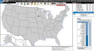Western Colorado Map by Ncaa Ice Western Wcha Billsportsmaps Com