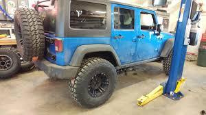 1986 jeep comanche lifted currectlync tj lj xj mj heavy duty tie rod system currie