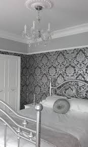 Shabby Chic Bedroom Chandelier Shabby Chic Bedroom Picture Rail And Cornice Ceiling Rose And