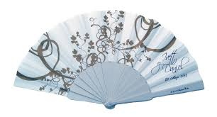 personalized fans two color custom printed fabric folding fans fanprinter