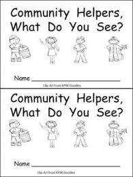 results for community helpers worksheet guest the mailbox