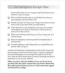 sample safety plan 2017 domestic violence safety plan template