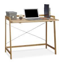 Schreibtisch Schwarz Klein Schreibtisch Holz Ca 80 X 100 Cm Kaufen Relaxdays De