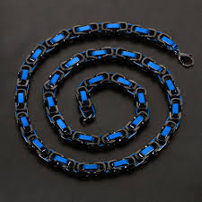 byzantine necklace images Byzantine chain necklace black blue crucible touch of modern jpg