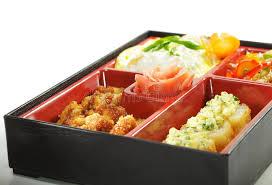 cuisine japonaise santé cuisine japonaise déjeuner de bento image stock image du santé