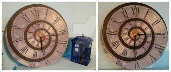 themed wall clock doctor who themed wall clock by dave2399 on deviantart