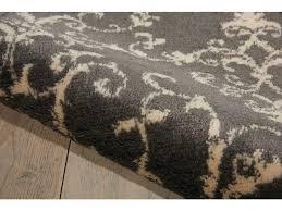 Area Rugs Nj Floor Coverings Nourison Nova Grey Area Rug No101 Grey