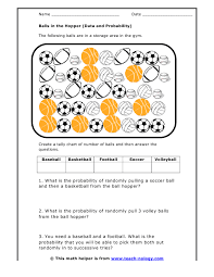 probability independent and dependent events worksheet free