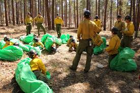 Wildfire Training by For Hotshot Firefighting Crews Preparing For The Worst Becomes A