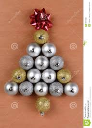 tree shape made from ornaments stock photo image 36176022
