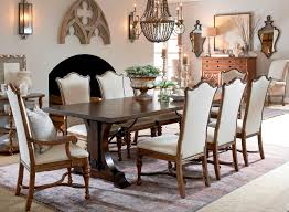 drexel viage northwest passage dining table stuckey furniture