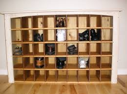 Large Shoe Cabinet With Doors by Simple Diy Shoe Rack Storage Behind The Door For Small And Narrow