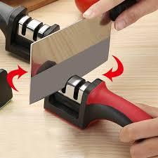 sharpening kitchen knives two stages kitchen knife sharpener deals direct store