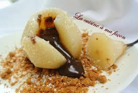 m6 recette de cuisine poires au chocolat la cuisine à ma façon