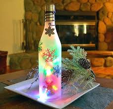 battery operated mini lights michaels wine bottle with lights inside stick a short strand of light in it
