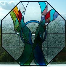 octagon stained glass window blog haeger stained glass